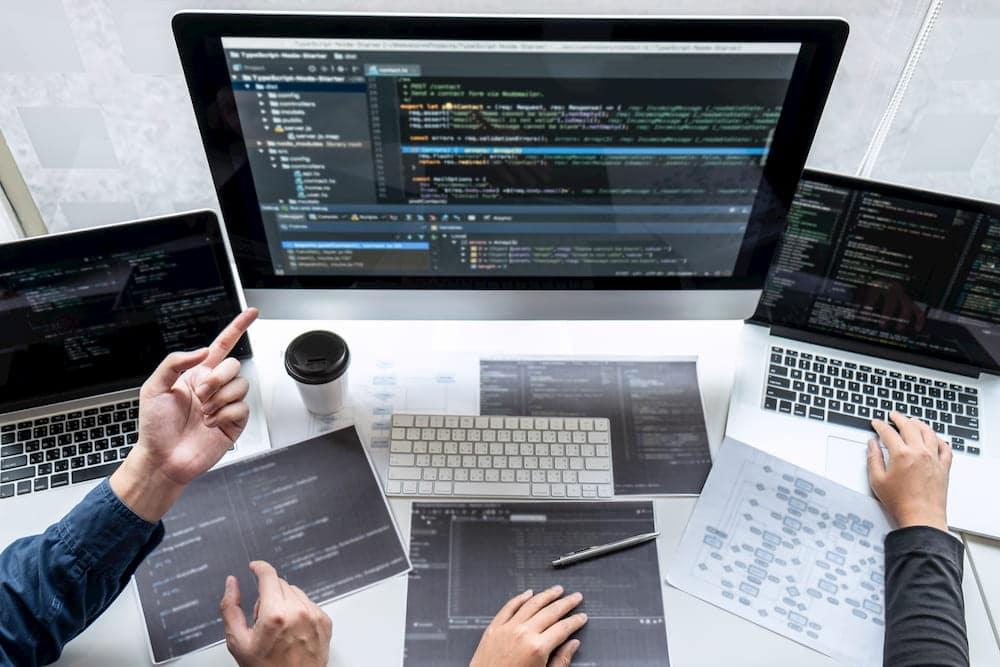 programadores software notebook computador