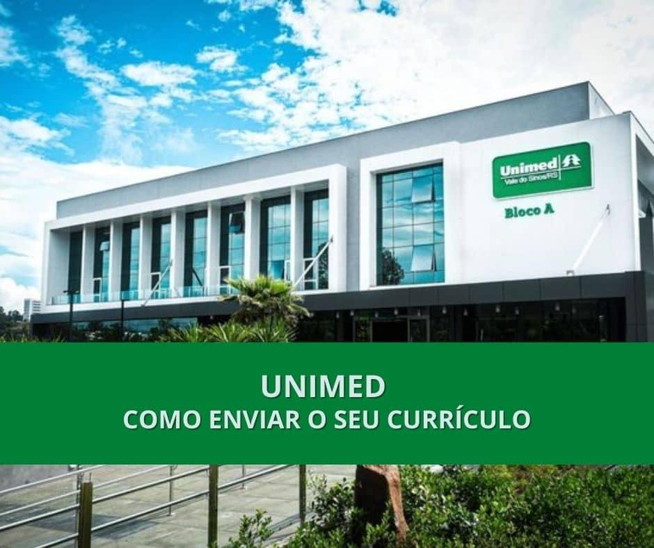 Trabalhe conosco Unimed: Como enviar o seu currículo 1